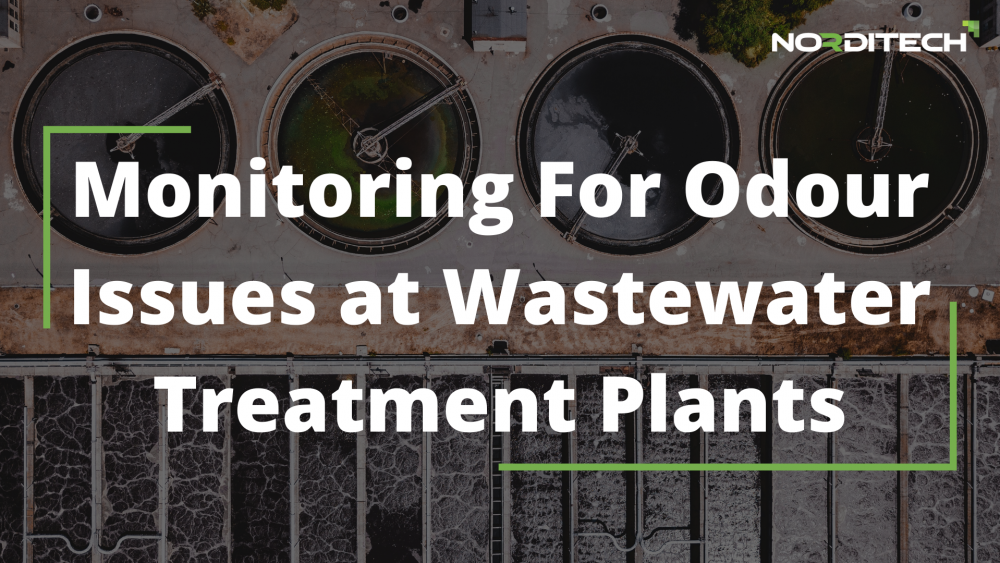 Monitoring For Odour Issues at Wastewater Treatment Plants